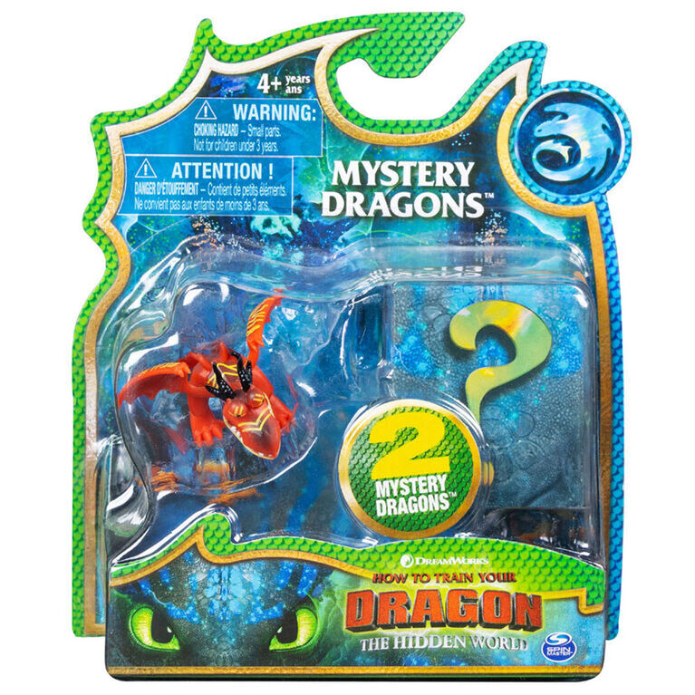 How To Train Your Dragon, Hookfang Mystery Dragons 2-Pack, Collectible Dragon Figures