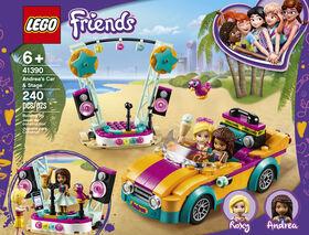 LEGO Friends La voiture et la scène d'Andréa 41390