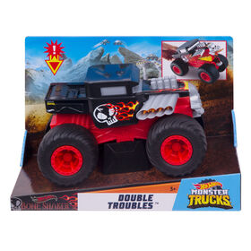Hot Wheels - Monster Trucks - Échelle 1:24 - Véhicule Bone Shaker.