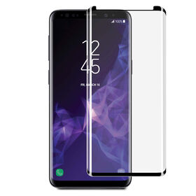 Blu Element 3D Curved Glass Case Friendly for Samsung Galaxy S9+ Black (BTGS9PCB)