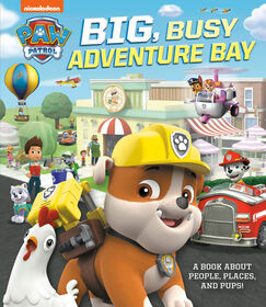 Big, Busy Adventure Bay: A Book About People, Places, and Pups! (PAW Patrol) - English Edition