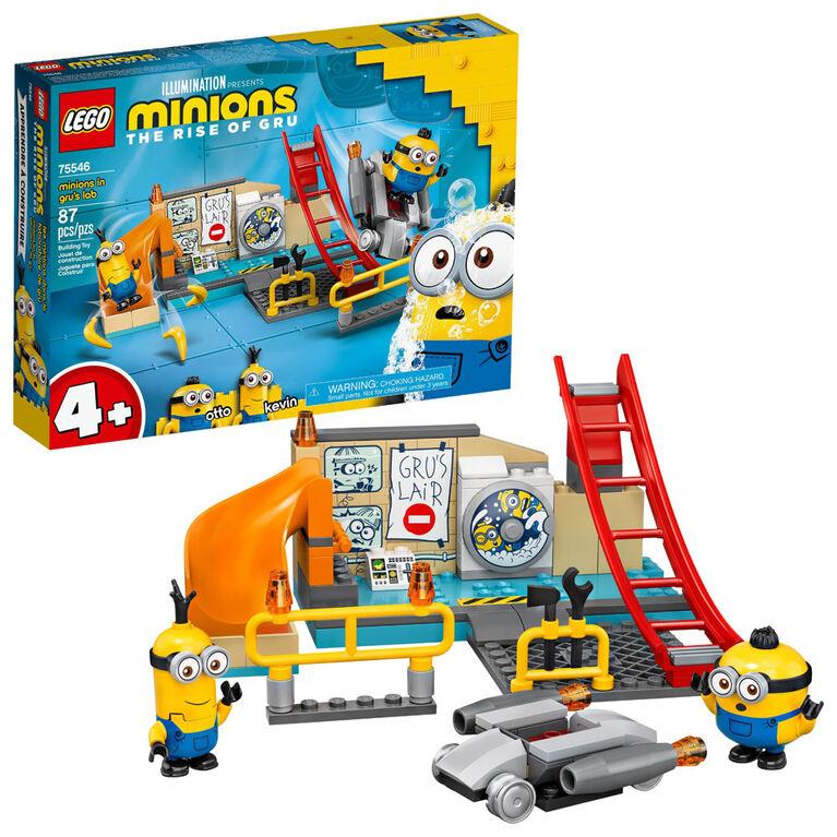 LEGO Minions - Minions in Gru's Lab 75546