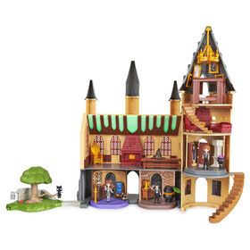 Wizarding World, Magical Minis, Deluxe Hogwarts Castle, effets lumineux et sonores