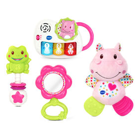 VTech Newborn Necessities Gift Set - Pink - French Edition