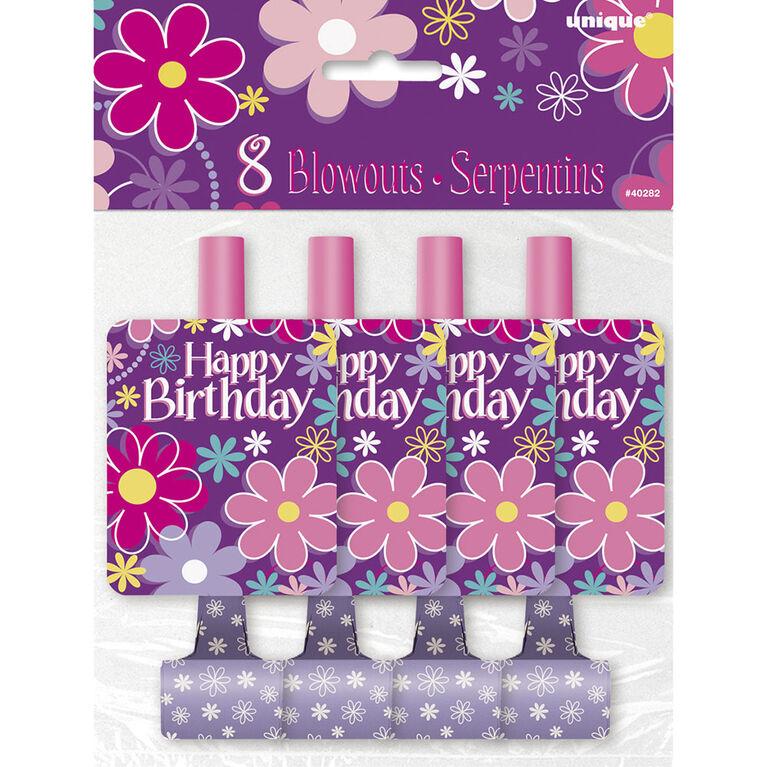 8 Éruptions - Birthday Blossoms - Édition anglaise