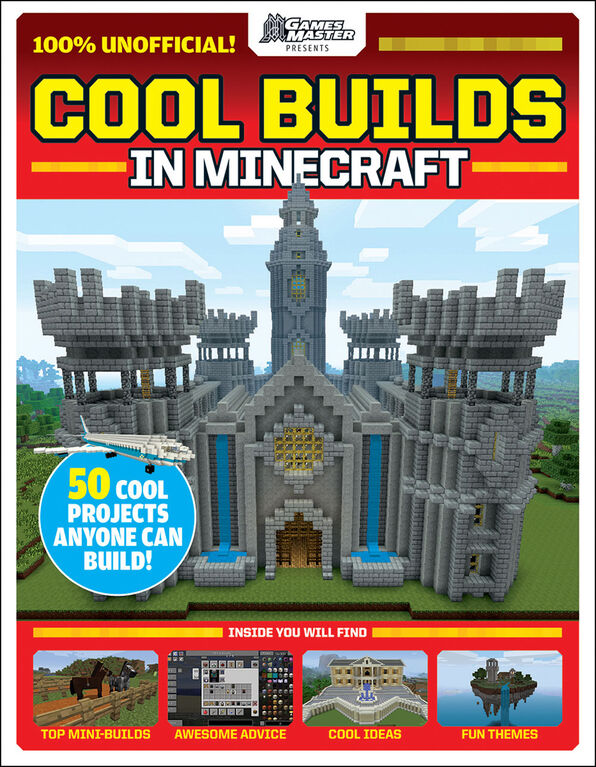GamesMaster Presents: Cool Builds in Minecraft! - Édition anglaise
