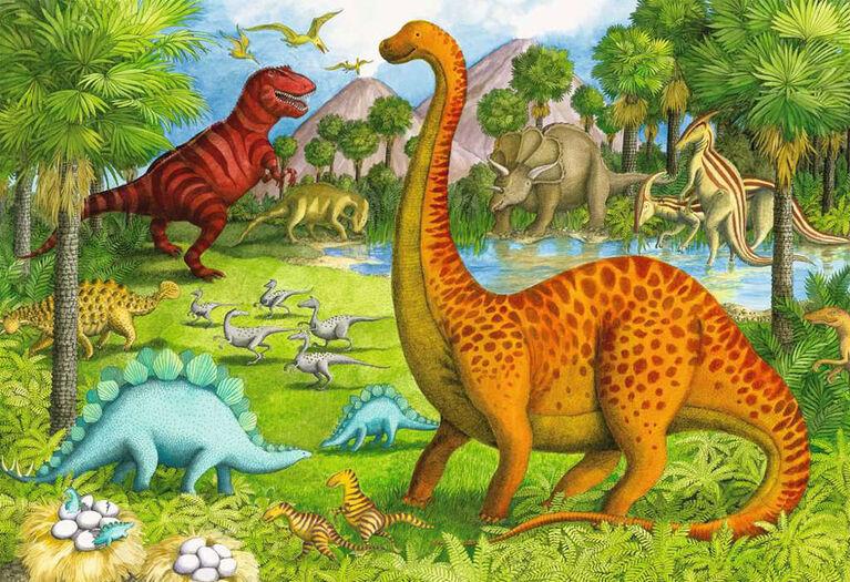 Ravensburger - Amis dinosaures casse-têtes de plancher 24pc