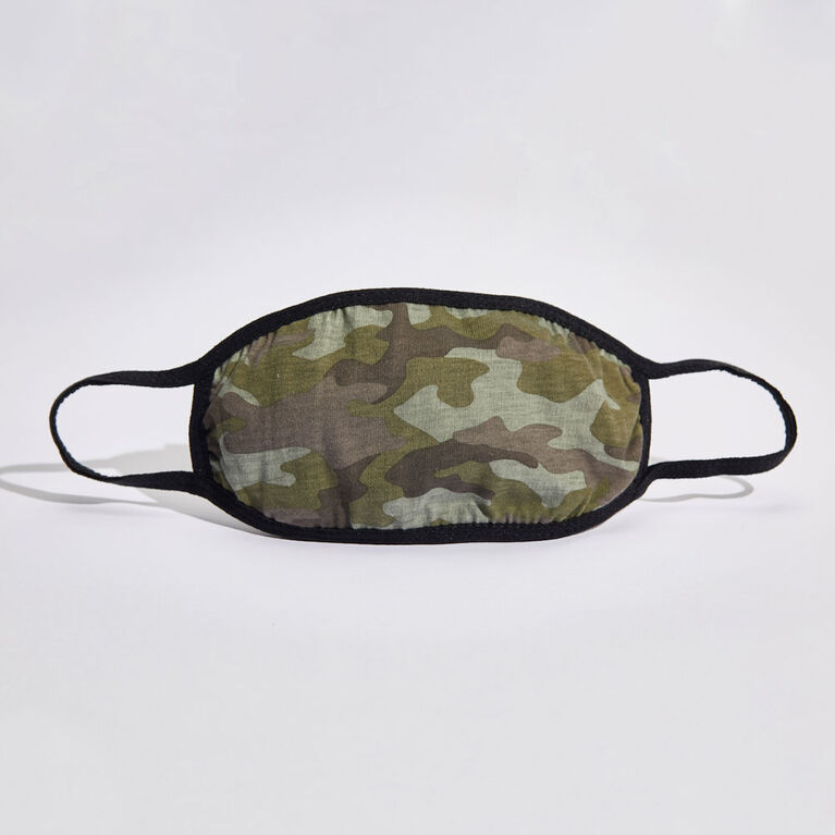 kidcare - Cloth Face Mask Everyday 1-pack - Camo Green