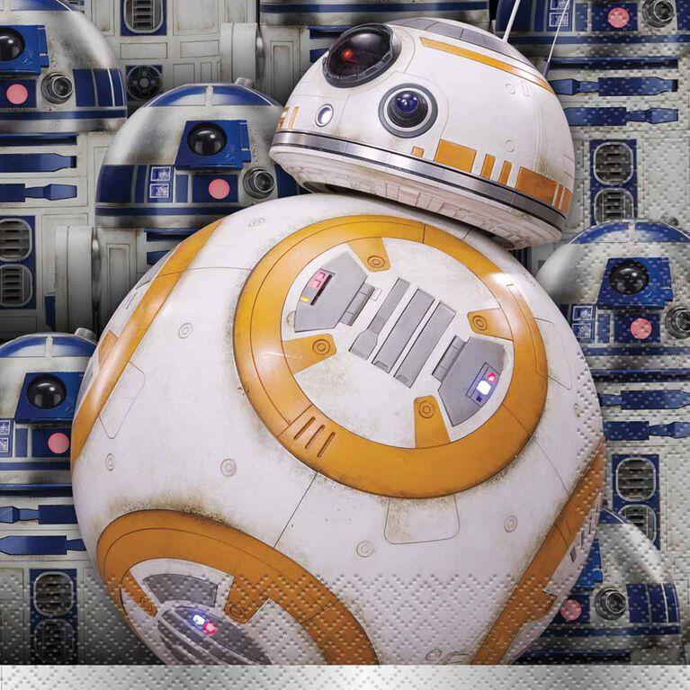 Star Wars Classic Serviettes de Table, 16un