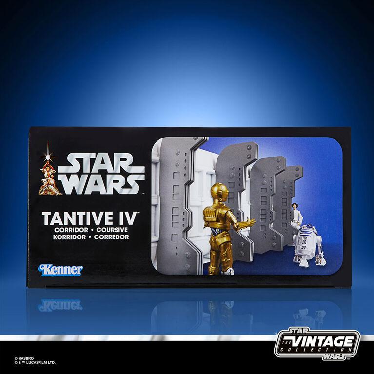Star Wars Collection Vintage jouets Tantive IV du film Un nouvel espoir et figurine