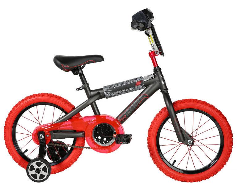 Hot Wheels - Vélo 16 po - Notre exclusivité