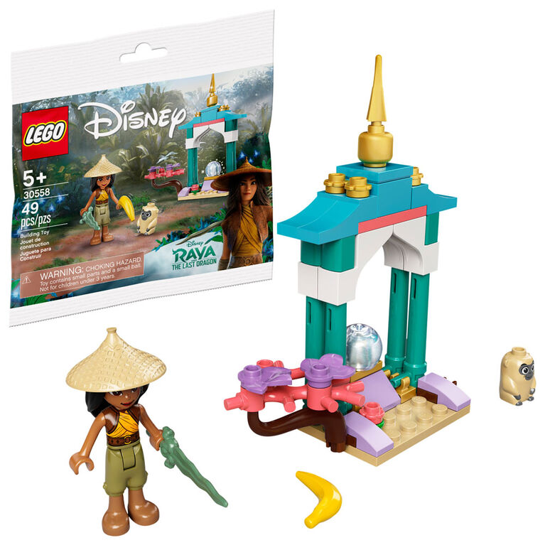 LEGO Disney's Raya and the Last Dragon Raya and the Ongi's Heart Lands Adventure 30558