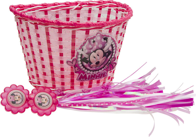 Minnie Mouse Basket and Streamer