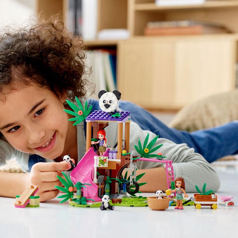 LEGO Friends La cabane des pandas dans la jungle 41422