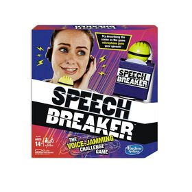 Hasbro Gaming - Speech Breaker Game - English Version - English Edition