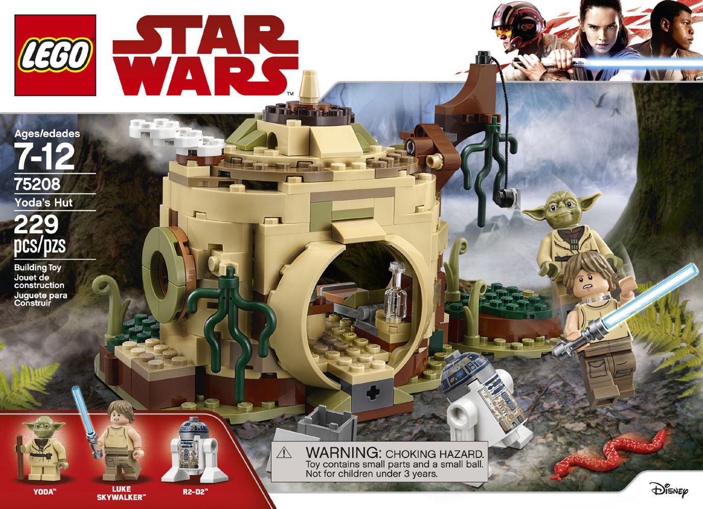 LEGO Star Wars-Jeu de Construction-La hutte de Yoda 75208