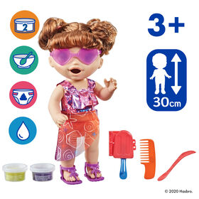 "Baby Alive Sunshine Snacks Doll, Eats and ""Poops,"" Waterplay Baby Doll"