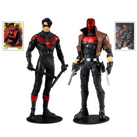 DC Multiverse Multipack Collector - Night Wing et Red Hood les figures