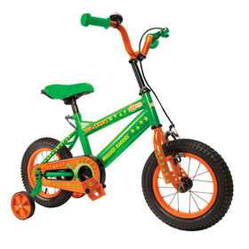 Rugged Racer 12 Inch Kids Bike with Training Wheels- Dinosaur - English Edition