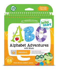 Livre d'activités pour la maternelle LeapStart de LeapFrog - Les aventures de l'alphabet - Version anglaise
