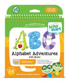 LeapFrog LeapStart Preschool Alphabet Adventures Activity Book - English version