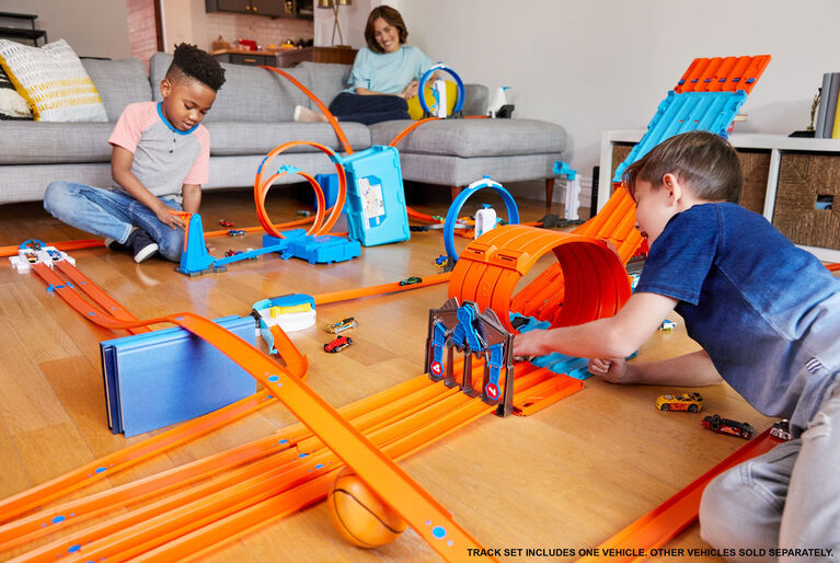 Hot Wheels - Track Builder - Caisse de course