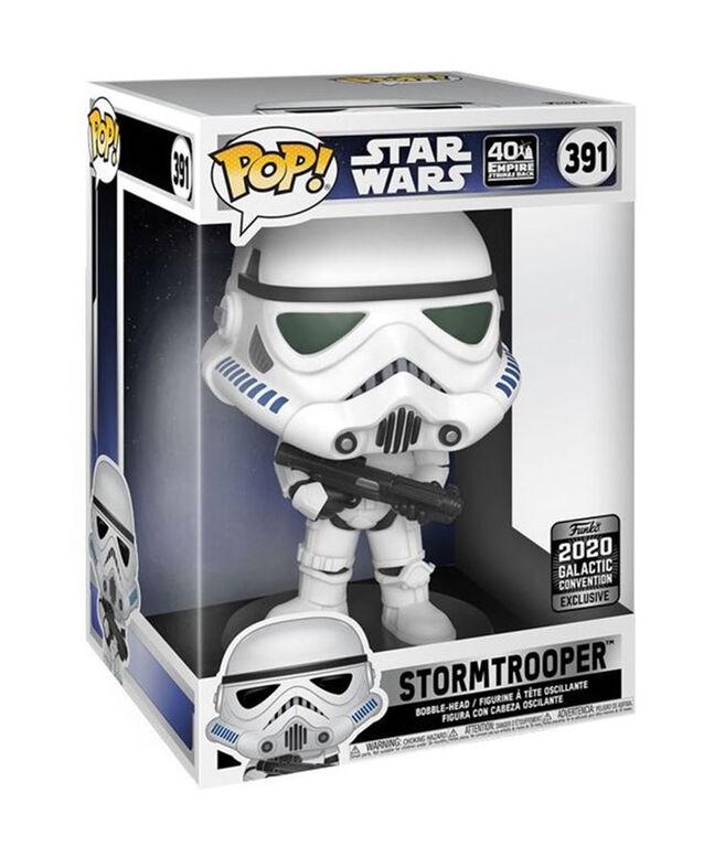 Figurine en Vinyle Stormtrooper par Funko POP! Star Wars - Notre exclusivité