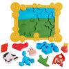 Blue's Clues & You! Talking Build-a-Blue 9-Piece 3D Puzzle