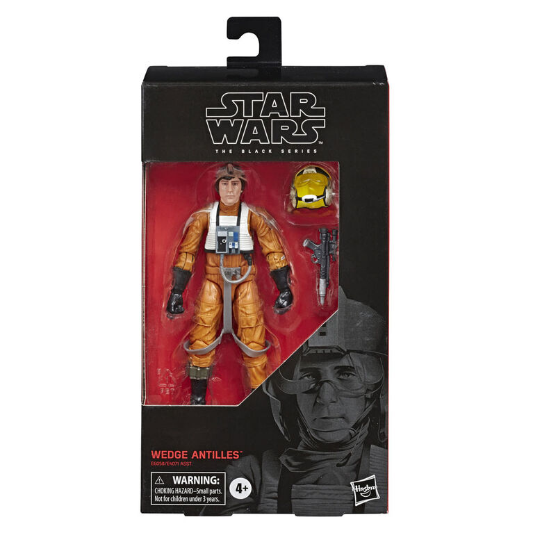 Star Wars The Black Series - Wedge Antilles, figurine de 15 cm