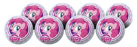 8 Pack Playball with Pump 4 inch My Little Pony