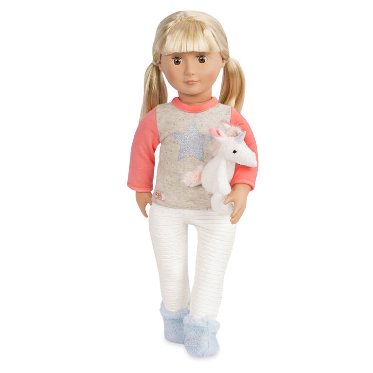 Our Generation, Unicorn Wishes, Pajama Outfit with Unicorn for 18-inch Dolls