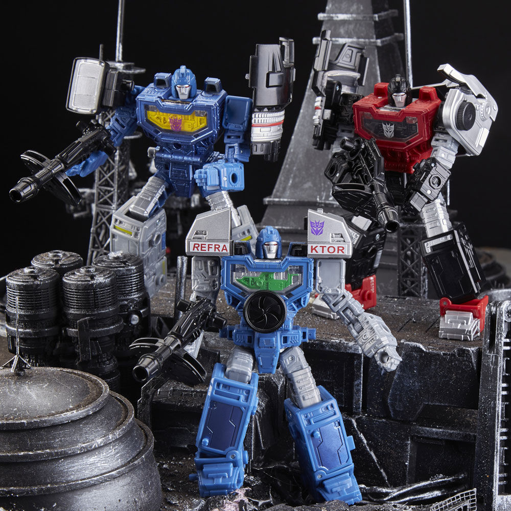 Exclusive 3-Pack IN STOCK Transformers Siege Refraktor Reconnaissance Team