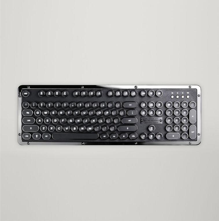 Bluetooth Retro Classic Mechanical Keyboard (ONYX)
