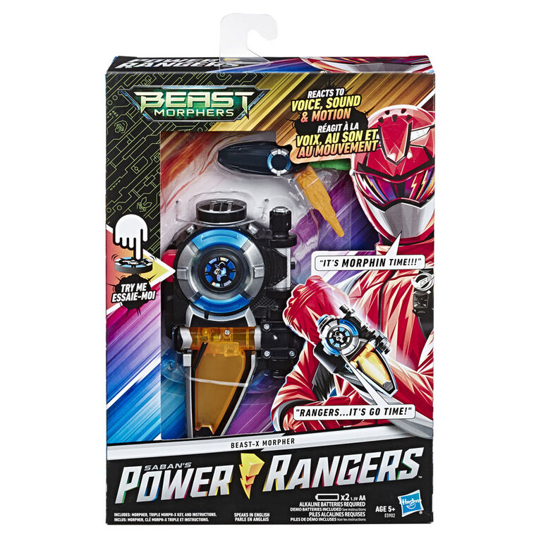 Power Rangers Beast Morphers: Beast-X Morpher.