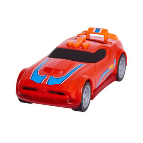 Hot Wheels Glow Riders - Fast Fish Red - R Exclusive