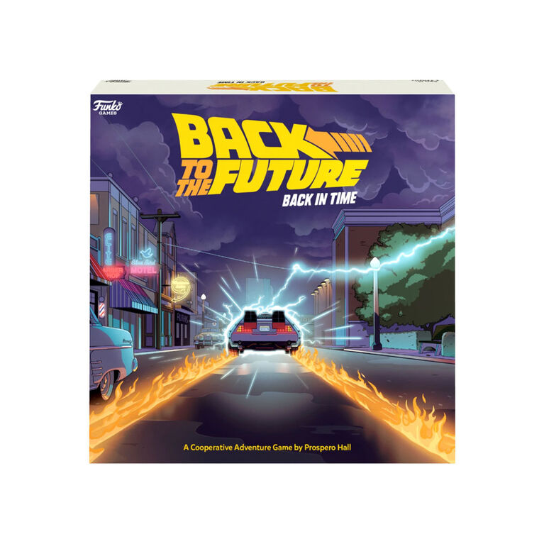 Back to the Future Back in Time Game - Back to the Future - English Edition