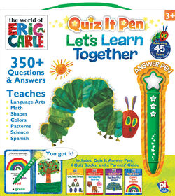 Quiz It Pen Box Eric Carle-Lets Learn Together