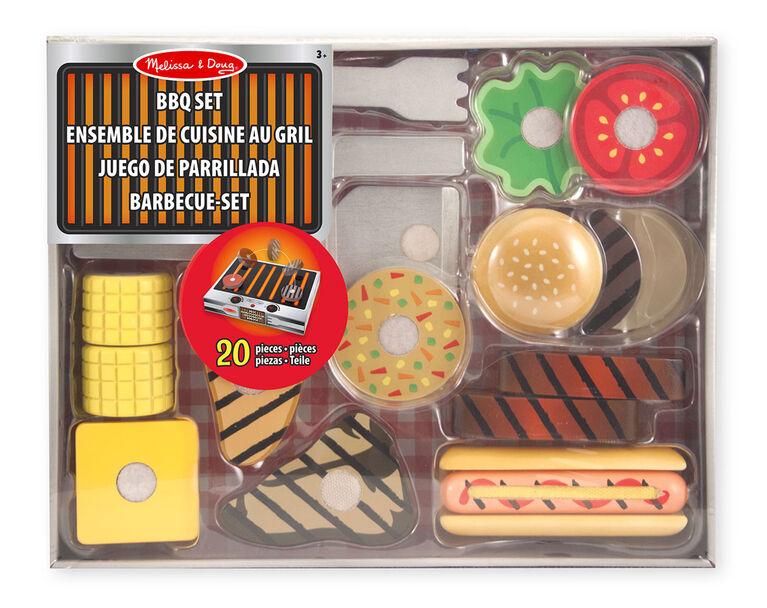 Melissa & Doug - Grill & Serve BBQ Set