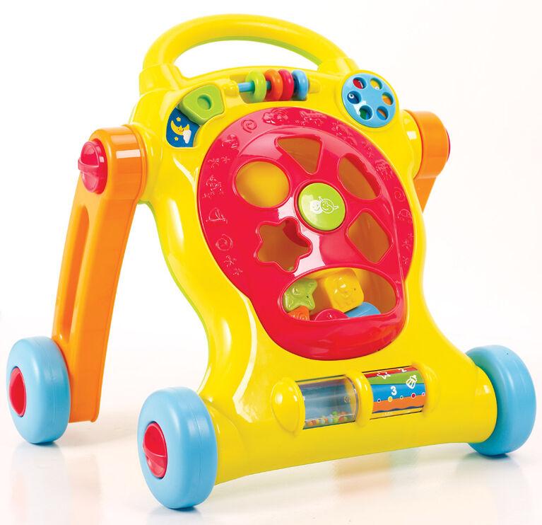 Imaginarium Baby - Porteur Petits pas avec trieur de formes