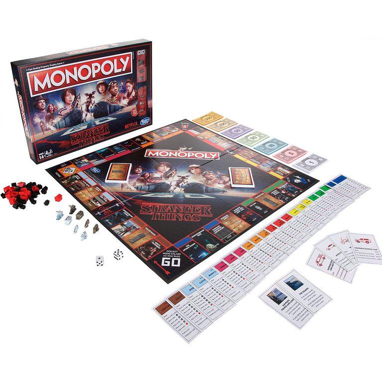 Hasbro Gaming - Monopoly Stranger Things Edition