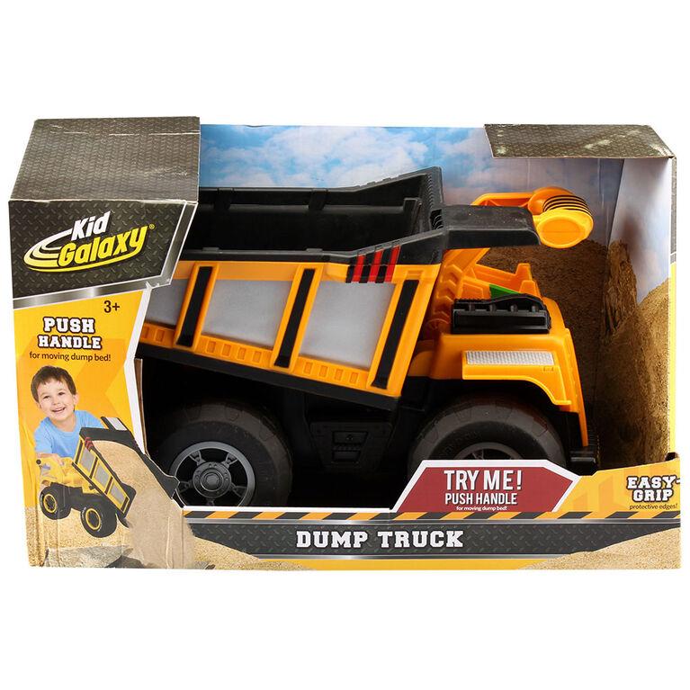 Camion à benne basculante Kid galaxie Mega Construction