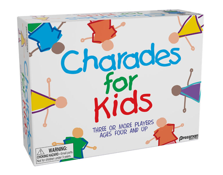 Pressman: Charades for Kids Family Game - English Edition