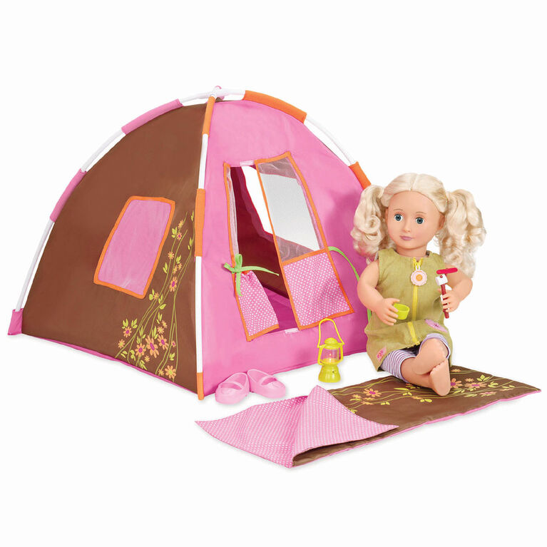 Our Generation, Polka Dot Camping Set for 18-inch Dolls