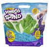 Kinetic Sand, Paquet de 3 couleurs de sable sensoriel Play sable moulable de 6 lb (bleu, vert, violet)