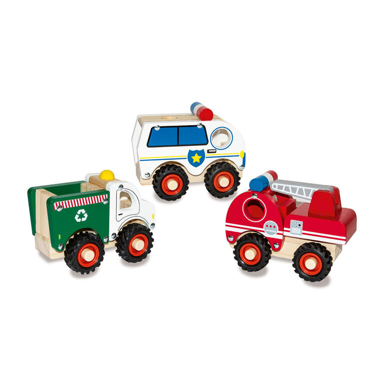 Woodlets - Vehicle - Recycle Truck - R Exclusive