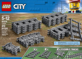 LEGO City Trains Pack de rails 60205