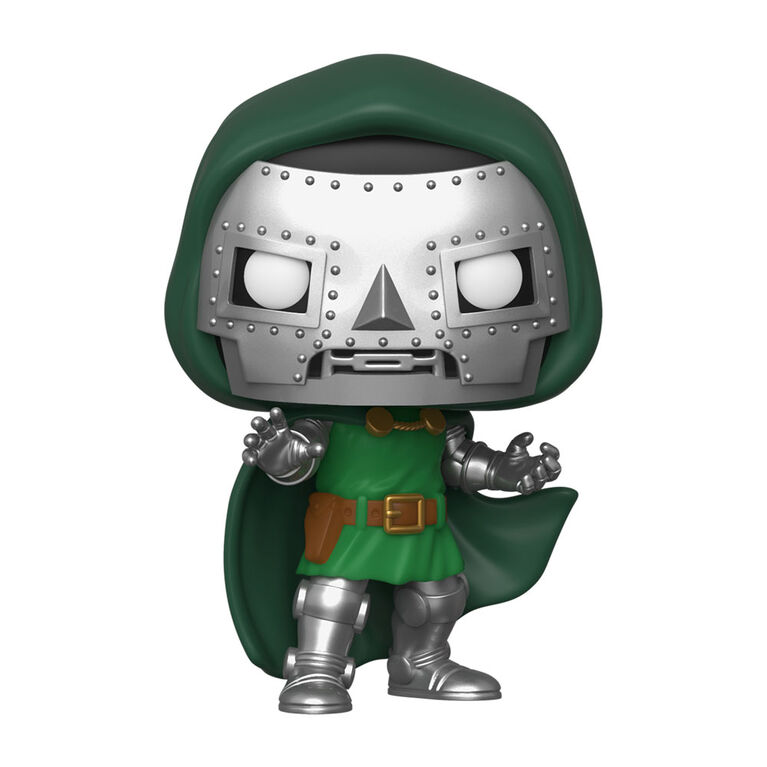 Figurine en Vinyle Doctor Doom Par Funko POP! Marvel Comics Fantastic Four