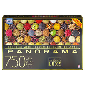 Big Ben 750-Piece Luxe Panorama Jigsaw Puzzle, Seasonings