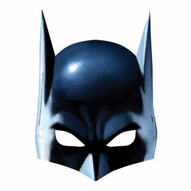 Batman Party Masks, 8 pieces