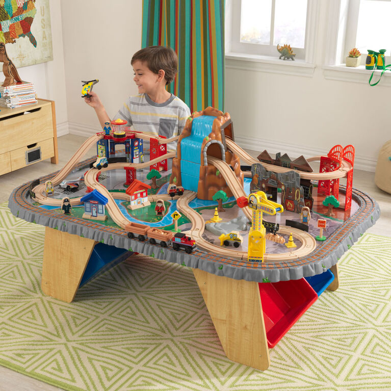 Waterfall Junction Train Set & Table